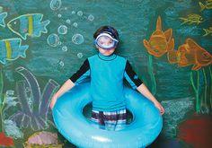 Ideias para ajudar a criança a gastar energia durante as férias