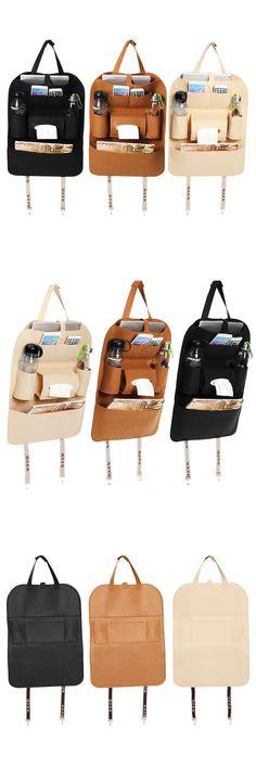 Favorable IPRee® Peach Style Auto Car Seat Back Multi Pocket Storage Bag Organizer Holder Accessory 56x40cm - NewChic Mobile