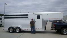 Archie Reddell from Cleveland, Texas purchased this 3 Horse S/C from Jake Ramsey of Gulf Coast 4-Star Trailer Sales in Willis, Texas. Thanks Archie for your purchase, enjoy your new 4-Star!  877.543.0733  www.gc4star.com