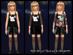 Cute Designer Set with Top (Moschino) and Ballonskirt … downloadlink for the skirts here . the top set here … the last top and the shoes are my older designs. You can find it here: top … shoes with stockings  skirt mesh made by me                                                   top mesh EA recolor made by me with Sims 4 Studio  You can use my mesh if you give credit and link back to my blog.  Thank you..! .Happy simming and have a wonderful weekend…