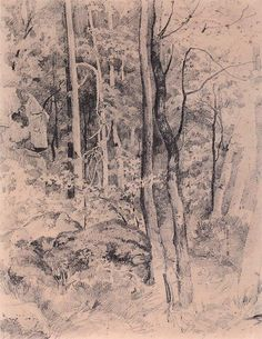 http://www.wikiart.org/en/ivan-shishkin/peasant-woman-with-cows-1873
