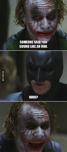 Joker Trolling Batman
