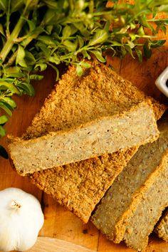 Prosty pasztet z zielonej soczewicy (5 składników) - Wilkuchnia Gluten Free Recipes, Healthy Recipes, Healthy Food, Meatloaf, Cornbread, Free Food, Low Carb, Cooking, Ethnic Recipes