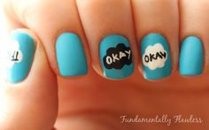 Fundamentally Flawless: The Fault in Our Stars Nail Art