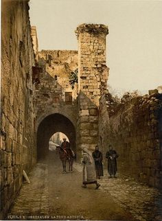 [The Tower of Antonia, Jerusalem, Holy Land]