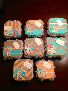 handmade bridesmaids boxes