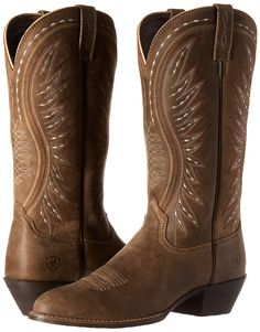 85a589f9dfa Ariat Womens Ammorette Western Cowboy Boot Brown Bomber 8 B US -- Click  image for more details. (This is an affiliate link) 0