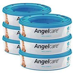 9 Packung Angelcare Nachfüllkassette Comfort Plus /& Deluxe Windeleimer