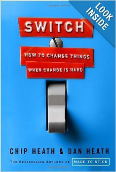 In Switch, Chip and Dan Heath explore what changes can occur when the rational mind and emotional mind no longer compete for control. The Heath brothers highlight examples from the workplace to the home and draw from decades of counter intuitive research to demonstrate what happens when the two systems of the mind - rational and emotional - unite.