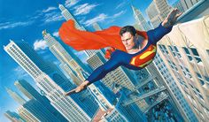Shop Alex Ross Look Up In The Sky!, a limited edition print released in 2014 part of our Alex ross collection at Treeby & Bolton. Arte Dc Comics, Superman Dc Comics, Batman E Superman, Superman Family, Marvel Dc, Superman Stuff, Superman Images, Superman Artwork, Superman Comic Books
