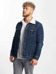 754b0dd3dd76f Urban Classics Sherpa Denim Jacket Dark Blue
