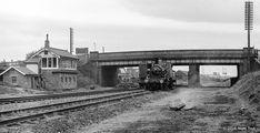 Loughborough Central signal box and King Haakon VII Steam Railway, Steam Locomotive, Victorian Era, Transportation, Bridge, Engineering, Boxes, British, Journey