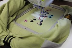Hooping t-shirts for machine embroidery tutorial - This Kenny guy is super cool!