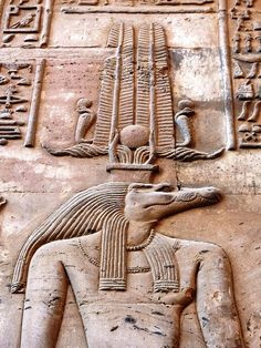Sobek, Crocodile God, Kom Ombo temple : Temple dedicated to the crocodile god Sobek (god of fertility and creator of the world with Hathor and Khonsu) and to the falcon god Haroeris.