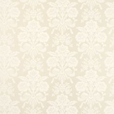 Tatton Linen Damask Wallpaper