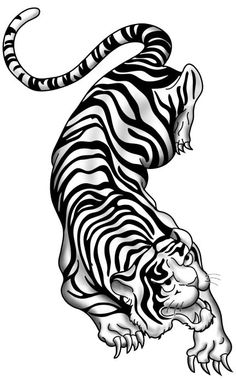 traditional chinese tiger tattoos - Google Search