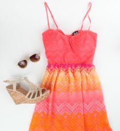 Spring dress #ootd