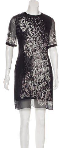 Jonathan Saunders Printed Knee-Length Dress