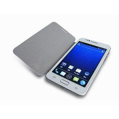 $204.24  Smartphone de 5 pulgadas, con procesador 1.2Ghz dual-core, 512Mb de RAM y sistema Android 4.1