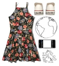"""""""Untitled #2008"""" by chill-outfits ❤ liked on Polyvore featuring Abercrombie & Fitch and Converse"""