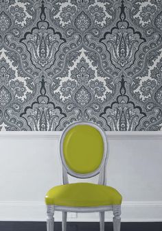 Echo is crazy for paisley! Their Modern Paisley wallpaper is a bold and exciting addition to any wall.