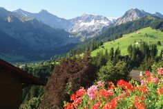 HF Holidays Guided Walking holidays Switzerland Bernese Oberland Adelboden Swiss Alps