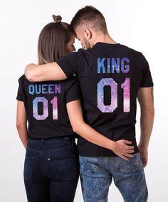 Galaxy Shirts, Galaxy King Shirt, Galaxy Queen Shirt, Galaxy Collection, Universe Shirts, Galaxy King Queen T-Shirts, Galaxy Shirts