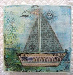 Boat by Efemeraink, via Flickr.  Just love the inspiration of this.  Because I love the beach!