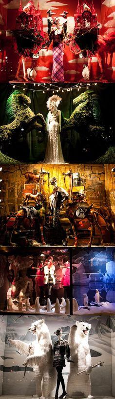 Bergdorf Goodman Holiday Window Displays 2009, New York, by James Maher Photography