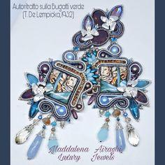 """Mi piace"": 65, commenti: 4 - Maddalena Airaghi (@maddalenaairaghihandmadejewels) su Instagram: ""Ancora Art in Art Collection Ancora Tamara de Lempicka, perché mi piace il suo stile essenziale e…"" Charmed, Jewels, Bracelets, Handmade, Instagram, Bangles, Jewelery, Hand Made, Gems"