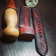leather watch strap watch strap watch band by CentaurStraps