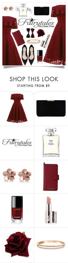 """""""Fairytales"""" by monique-joanne ❤ liked on Polyvore featuring L.K.Bennett, WALL, Chanel, Allurez, MICHAEL Michael Kors, Avon, Swarovski and Forever 21"""