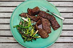 NYT Cooking: Grilled Skirt Steak With Garlic and Herbs
