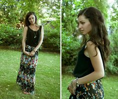 Get this look: http://lb.nu/look/5169222  More looks by Kassy D: http://lb.nu/kassyd  Items in this look:  Minimum Silk Top, Oak Floral Maxi Skirt