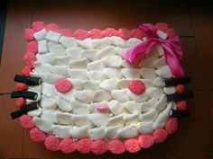 GATEAU DE BONBONS HELLO KITTY  https://www.facebook.com/pages/HiBiScUs-CR%C3%A9AtIoNs/138235776230466