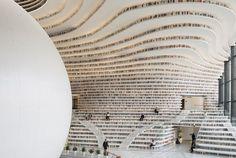 Tianjin Binhai Library in China by MVRDV with TUPDI | Yellowtrace