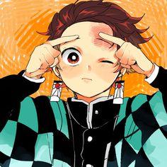 Imágenes random de Kimetsu no Yaiba - Tanjirou Kamadou - Страница 2 - Wattpad Demon Slayer, Slayer Anime, Kawaii Anime, Cotton Candy Sky, Dragon Tales, Fanart, Samurai Art, Anime Demon, Manga Boy