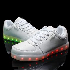 outlet store 21fb7 9fabb US  32.8  Aliexpress.com   Buy 2016 new springChildren USB Charging  Luminous Sneakers unisex Fashion Flash light up shoes chaussure lumineuse  enfant from ...
