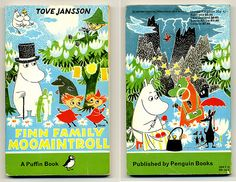 Finn Family Moomintroll -- really all of Tove Jansson's weird and wonderful books and cartoons.
