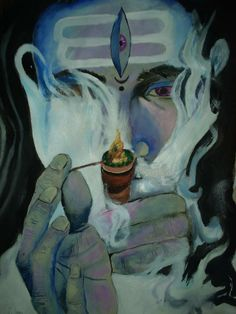 New Best Bhole Nath Mahakal Smoking Bhang Sulfa Images Photos