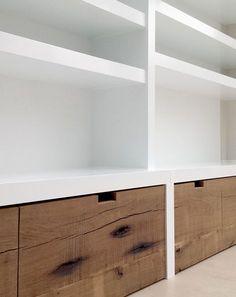 Home Interior, Modern Interior Design, Interior Design Living Room, Fireplace Bookshelves, Living Room Tv, Drywall, Home Deco, Diy Bedroom Decor, Interior Inspiration