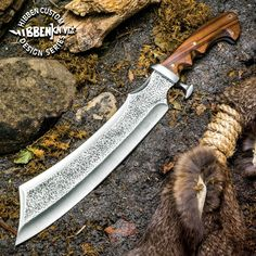 Gil Hibben Master Chopper Heavy Duty Machete Knife Tactical Survival w/Sheath   eBay