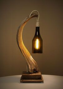 - (notitle) - Source by decoration wood lamp decor lamp Driftwood Lamp, Driftwood Projects, Handmade Home Decor, Diy Home Decor, Lampe Retro, Lampe Decoration, Wooden Lamp, Desk Lamp, Diy Furniture