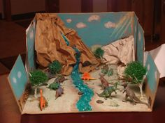 33 Awesome shoebox diorama desert images