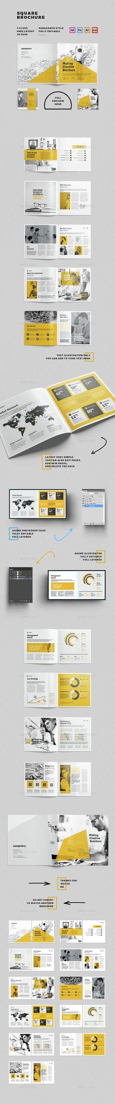 Brochure - Corporate Brochures | Download http://graphicriver.net/item/brochure/15293602?ref=sinzo