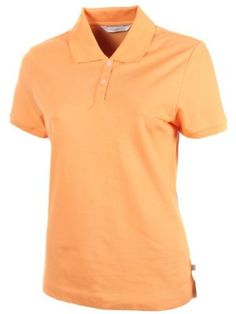Ashworth Womens Golf T-Shirt Polo Shirt Top 12 -WMS30038TANGE by Ashworth. $30.99. Quarter length button neck. 97% Cotton 3% Spandex. Short sleeves. Contains elastane for a personalised,comfortable fit. Small Ashworth logo label on hem of product. The Ashworth Womens Golf polo shirt is a highly breathable top will stand you our from the crowd on the golf course or in the clubhouse