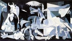 Guernica es un cuadro de Pablo Picasso, pintado en los meses de mayo y junio de 1937, cuyo título alude al bombardeo de Guernica, ocurrido el 26 de abril de dicho año, durante la Guerra Civil Española. Fue realizado por encargo del Gobierno de la República Española para ser expuesto en el pabellón español durante la Exposición Internacional de 1937 en París, con el fin de atraer la atención del público hacia la causa republicana en plena Guerra Civil Española.