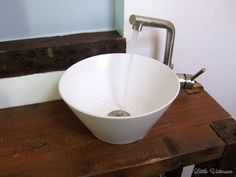 How To Make A Vessel Sink From A Serving Bowl