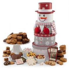 Ultimate Snowman Bundle 2013 from Mrs Fields on shop.CatalogSpree.com, your personal digital mall.