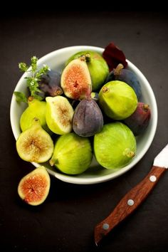Food of love: Fresh figs.  www.kissinginthekitchen.com  Twitter @kissingkitchen  #Kissingkitchen https://www.facebook.com/KissingInTheKitchen